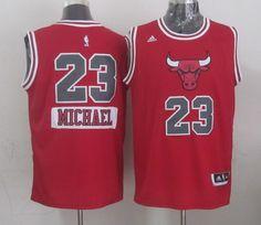 Chicago Bulls #23 Michael Jordan Revolution 30 Swingman 2014 Christmas Day White Jersey