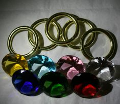 Rings and chaos emeralds