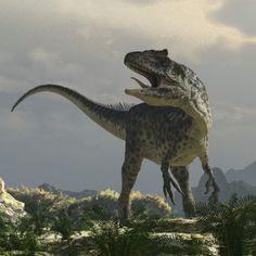 dinosaurios carnivoros gigantes en acción