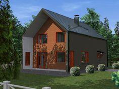 Проект каркасного дома TRUMP 155 кв.м. http://www.ekonia.ru  The project of frame house TRUMP 155m2