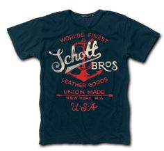 Two Color Anchor Tee TANCH2