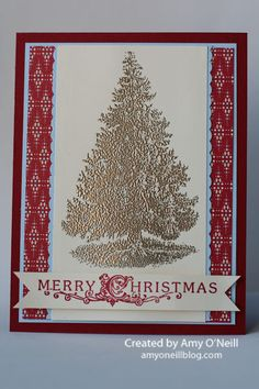 A Tall, Shiny Tree   Amy's Paper Crafts