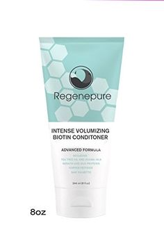 Regenepure Intense Volumizing Biotin Conditioner for Hair Loss, 8 Ounce (Pack of 2) * Visit the image link more details.