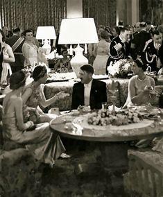 Adolf Hitler speaks to Princess Olga of Greece, the wife of the King of Yugoslavia, 1939