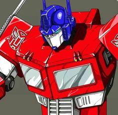 the real Optimus prime classic