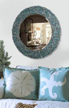 Blue shell mirror