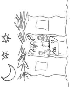 דפי צביעה להורדה - חגים - סוכות - ארבעת המינים - אמוס ...