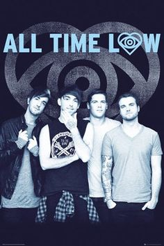 Something's Gotta Give All Time Low Poster, 61cm x 91.5cm #alltimelow #atl #rockmusic #americanband