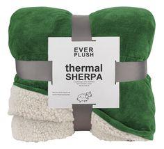 Everplush Luxe-Warming Sherpa Plush Blanket