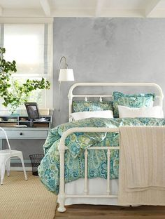 I want this bed in the darker color!!!! Pottery Barn!!