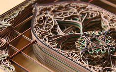 a-faerietale-of-inspiration: Eric Standley, paper windows . . .