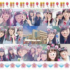 【maiko_____23】さんのInstagramをピンしています。 《( (  櫻 輝 祭 ) ) 👭💖 . . .  すごい楽しかった❕ いろんな人にも会えたし満足🗣🍥 来年もいこ〜〜っと🎈  くるみ、むらおありがとね🙏🏽 . . .  #文化祭#桜#クオリティ#やばし#こばし#藤とは#大違い#うらやましすぎる#楽しい#時間を#ありがとう》