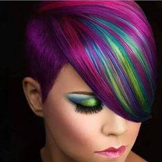 Kurzhaarfrisuren mit fabelhaften Farbkombinationen!