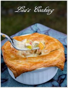 "Lea's Cooking: ""Chicken Mushroom Pot Pie"""