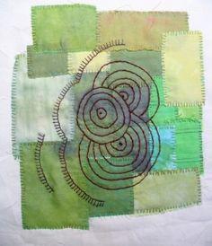 bordado en patchwork