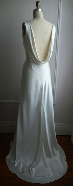 The Liquid Satin Dress | OneWed