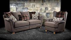 The Camden is a breathtakingly comfortable sofa range. The combination of it's super soft microfibre pile body fabric and plush accent cushions ensure the Camden offers optimum comfort. Comfy Bed, Comfortable Sofa, Sofa Italia, Retro Sofa, Types Of Sofas, Pink Sofa, Classic Sofa, Luxury Sofa