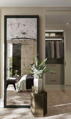 CGI of Rosalind Franklin — Bedroom / dressing room in white desert
