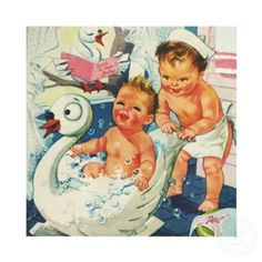 Google Image Result for http://rlv.zcache.com/vintage_children_playing_bubble_bath_baby_shower_invitation-p161003990444682080b26en_400.jpg