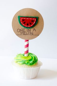 Watermelon Party Topper 6 Mason Jar Gift Labels  by sewlovetheday, $8.00