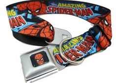 Spiderman Seat Belt Buckle Dog Collar Wide Medium 15 X 1323 Inches -- To view further for this item, visit the image link. (This is an affiliate link) Dog Belt, Dog Seat Belt, Seat Belt Buckle, Seat Belts, Dog Collars & Leashes, Dog Leash, Best Bow, Collar And Leash, Spiderman