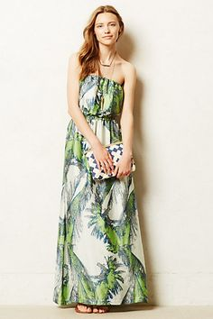Sabal Maxi Dress #anthropologie