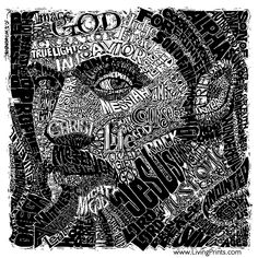Living Prints.com - Christian Art Prints - His Name