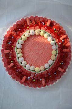 Tarta de chuches - Candy cake - Gâteau de bonbons - Snoeptaart - #gominolas #golosinas