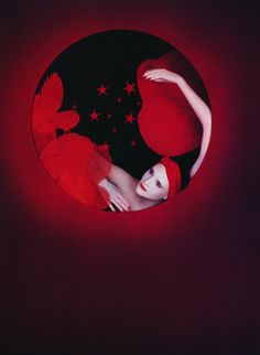 Yamaguchi, Editorial Photography, Fashion Photography, Faraway Tree, Collage Illustration, Illustrations, Dark Beauty, Shades Of Red, Photo Manipulation