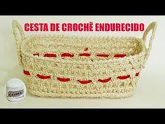 Aprendendo a endurecer peças de croche - Aprendendo Crochê - YouTube