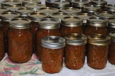 How to make and can true Southern Style Chow Chow