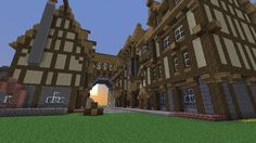 Proceed on Thorm (medieval minecraft city) by Nosh0r on DeviantArt