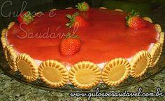 Torta Holandesa de Morango » Guloso e Saudável
