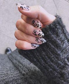 Nail Art Gel Best Transition To Fall Nail Colors Nail Polish, Gel Nail Art, Acrylic Nails, Cute Nails, Pretty Nails, Hair And Nails, My Nails, Leopard Print Nails, Leopard Nail Designs