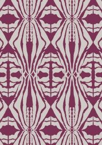 Fabric from Funky Wombat Textiles - buy from Rainsfords Awnings | Blinds | Curtains