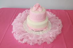 Ayla's birthday cake.