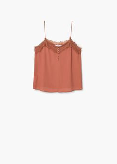 Lace top - Shirts for Woman | MANGO United Kingdom
