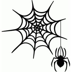 Silhouette Design Store - browse-daily-and-clearance Halloween Rocks, Halloween Spider, Spider Web Tattoo, Smile Wallpaper, Rock Poster, Halloween Silhouettes, Halloween Quilts, Dream Tattoos, Cricut Creations