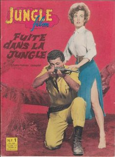 Jungle Film N° 12/1961 - Fuite dans la Jungle, George Reeves Wanda McKay R. Byrd