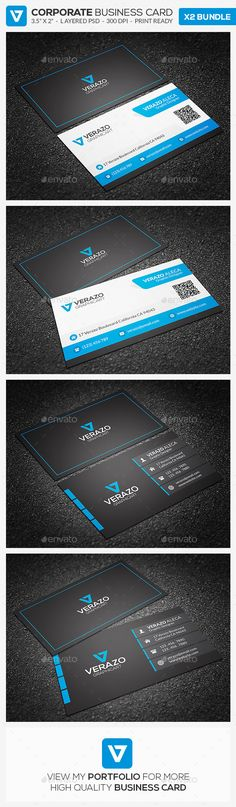 Business Card Bundle 25 by verazo Need more high quality business card? View my Business Card Templates Collection OR Save Money! Buy Business Card Bundle for only