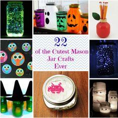 Mason Mania: 22 Mason Jar Crafts