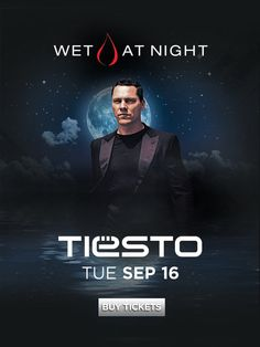 You've never experienced Wet Republic Ultra Pool like this before. Check out Tiesto as he headlines the first ever Wet at Night this Tuesday, September 16.