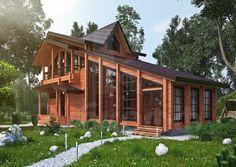 Проект «Дух современности»   Лучший деревянный дом