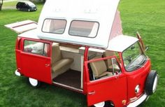 eBay Listing: 1971 VW Camper Van by DormobileThis listing is worth a look for a variety of reasons. The vehicle itself is a