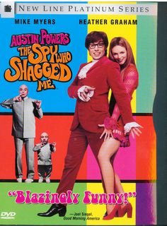 Austin Powers The Spy Who Shagged Me DVD Platinum Edition Mike Myers