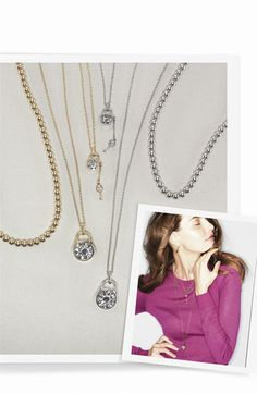 Michael Kors Padlock Collection and 'Brilliance' Pendant Necklace | Nordstrom