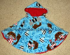 Pattern Shmattern: Car Seat Poncho - Another way to sew the hood