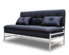 Диван хромированный » Мебель из металла и стекла