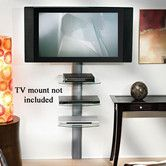 Found it at Wayfair - 3-Shelf Wall System with Cable Management