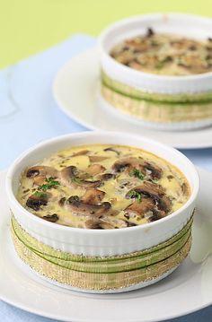 Hummm ! Clafoutis aux champignons : la recette du 3 avril sur Un Jour, Une Recette